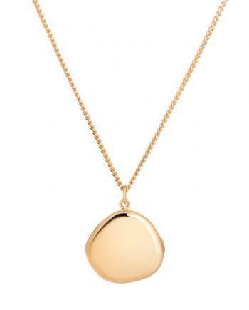 colar-golden-locket